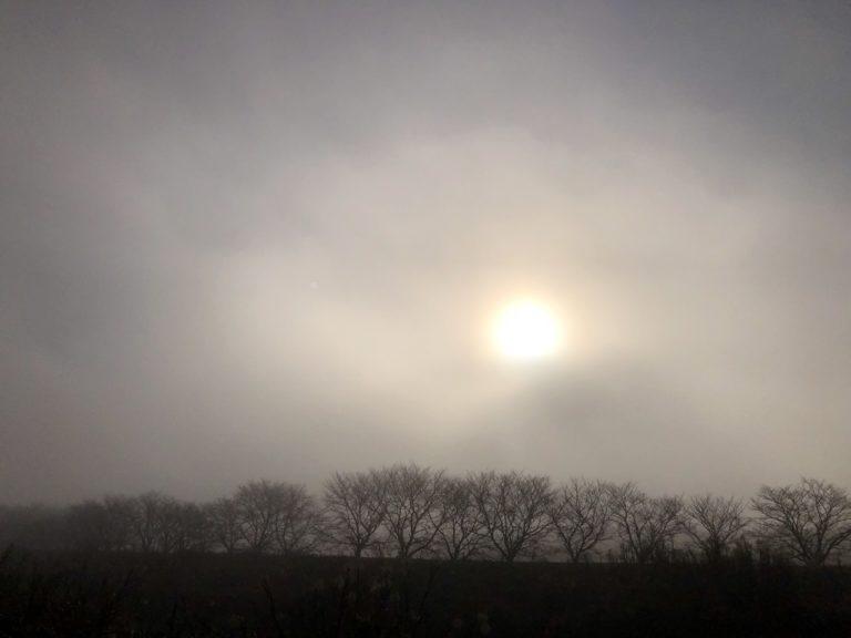 冬至の太陽